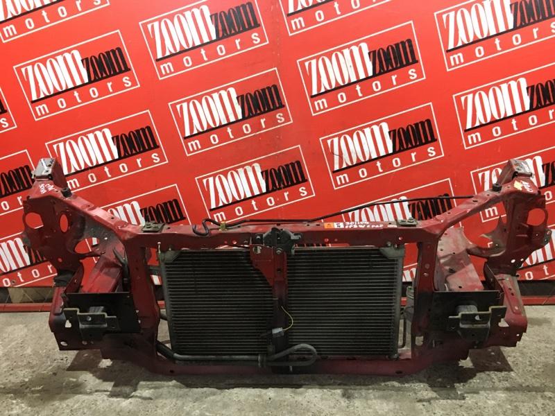 Рамка радиатора Mazda Premacy CP8W FP-DE 2001 передняя красный