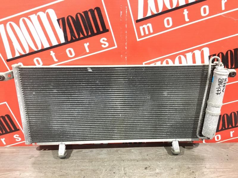 Радиатор кондиционера Mitsubishi Pajero Io H76W 4G93 1998