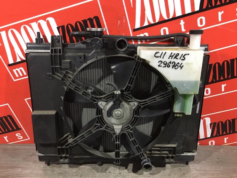 Радиатор двигателя Nissan Tiida C11 HR15DE 2004