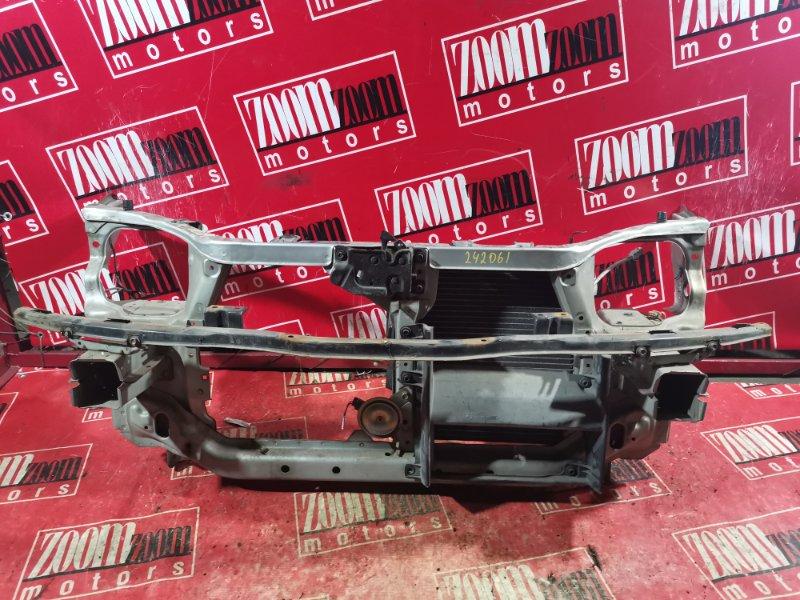 Рамка радиатора Honda Partner EY7 D15B 1997 серебро