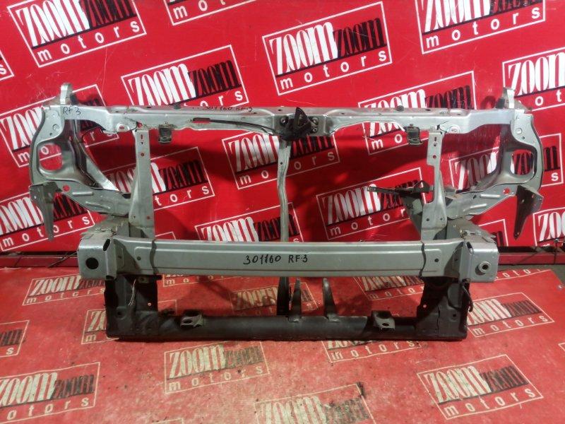 Рамка радиатора Honda Stepwgn RF3 K20A 2003 передняя серебро