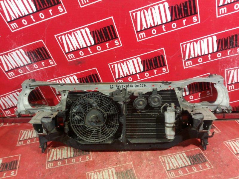 Рамка радиатора Toyota Sprinter Trueno AE111 1995 передняя серебро
