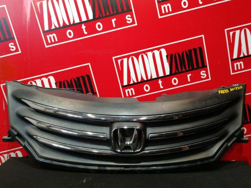 Решетка радиатора Honda Freed GB3 L15A 2007 черный