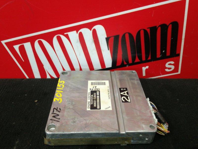 Компьютер (блок управления) Toyota Ist NCP61 1NZ-FE 2002 89661-52840