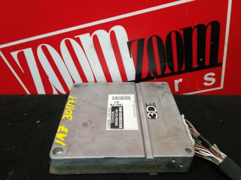 Компьютер (блок управления) Toyota Funcargo NCP21 1NZ-FE 1999 89666-52140