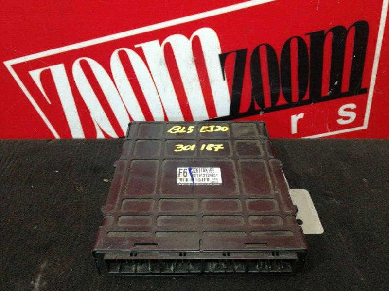Компьютер (блок управления) Subaru Legacy BL5 EJ20 2003 22611AK191