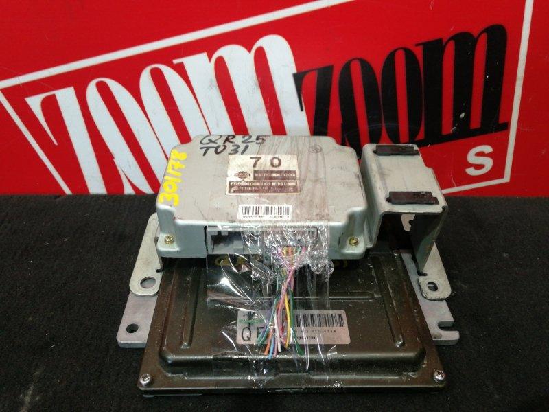 Компьютер (блок управления) Nissan Presage TU31 QR25DE 2003 A56-V12 UL3 4318