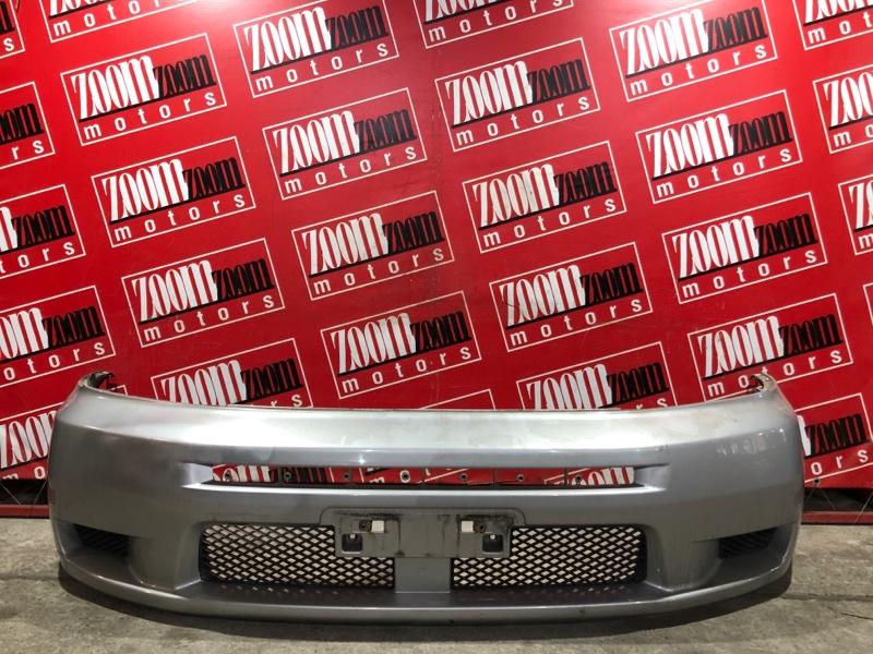Бампер Mitsubishi Dingo CQ1A 4G15 2001 передний серебро