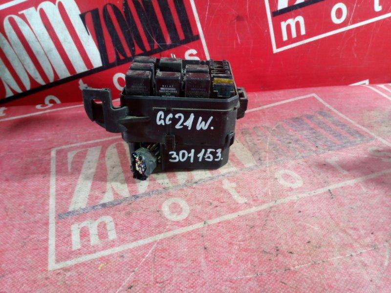 Блок реле и предохранителей Suzuki Cultus GC21W G15A 1997 передний