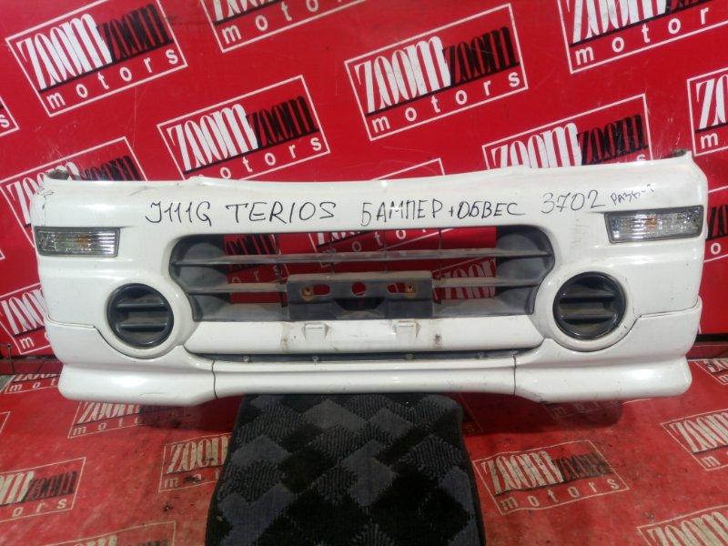 Бампер Daihatsu Terios Kid J111G 1998 передний белый