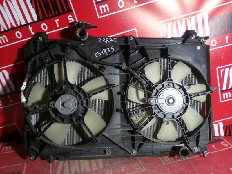 Радиатор двигателя Toyota Noah ZZR70 3ZR-FAE 2007