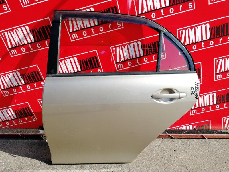 Дверь боковая Toyota Corolla Axio NZE141 1NZ-FE 2006 задняя левая золото