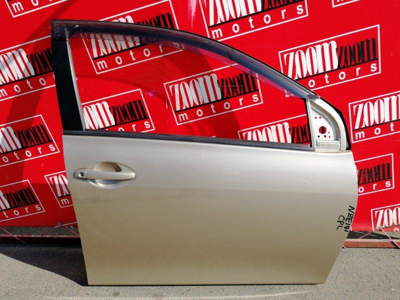 Дверь боковая Toyota Corolla Axio NZE141 1NZ-FE 2006 передняя правая золото