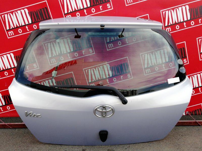 Дверь задняя багажника Toyota Vitz SCP90 2SZ-FE 2005 задняя розовый