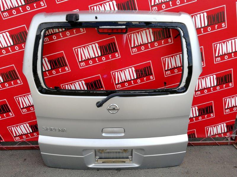 Дверь задняя багажника Nissan Serena TC24 QR20DE 1999 задняя серебро