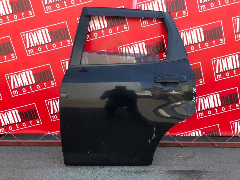 Дверь боковая Honda Fit GD1 L13A 2001 задняя левая черный