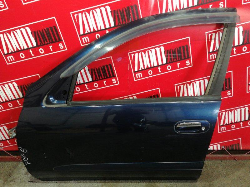 Дверь боковая Nissan Bluebird Sylphy QG10 QG18DE 2000 передняя левая синий