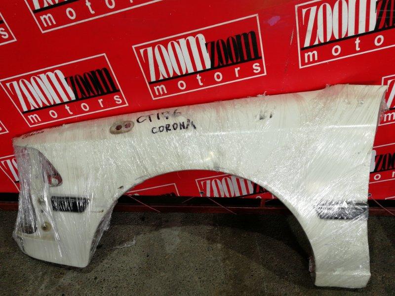 Крыло Toyota Corona CT176V 2C 1987 переднее левое белый