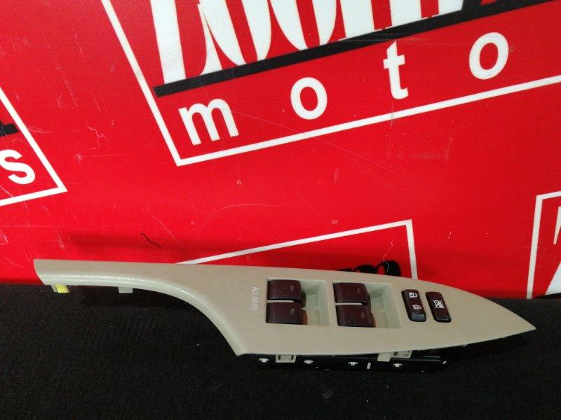 Блок управления стеклоподъемниками Toyota Corolla Axio NZE141 1NZ-FE 2006 передний правый