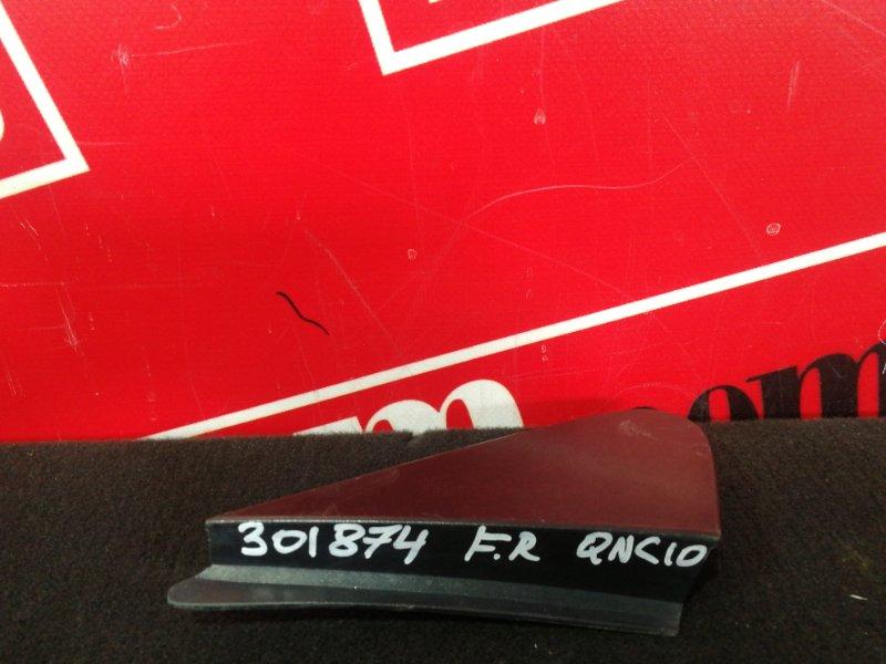 Накладка на крыло Toyota Passo QNC10 K3-VE 2004 передняя правая