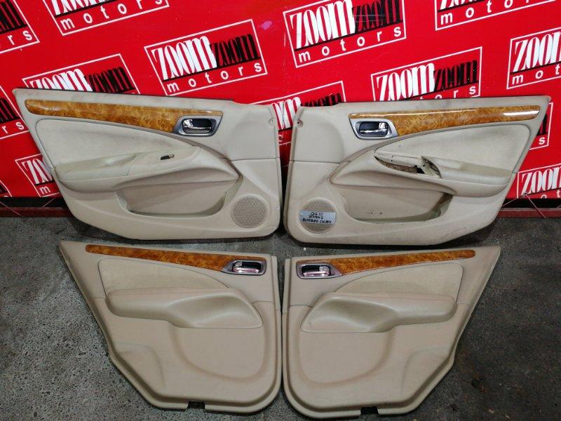 Обшивка двери Nissan Bluebird Sylphy QG10 QG18DE 2000 бежевый