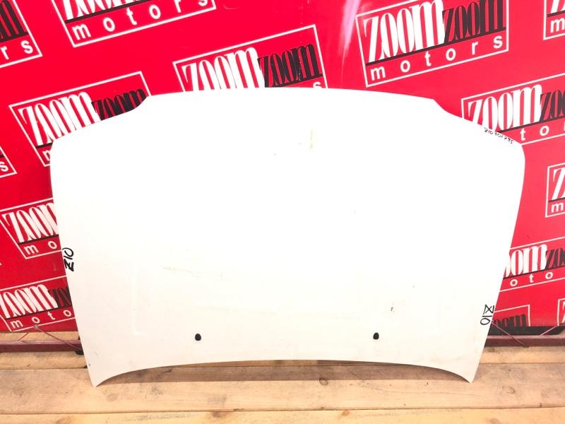 Капот Nissan Cube Z10 CG13DE 1998 белый