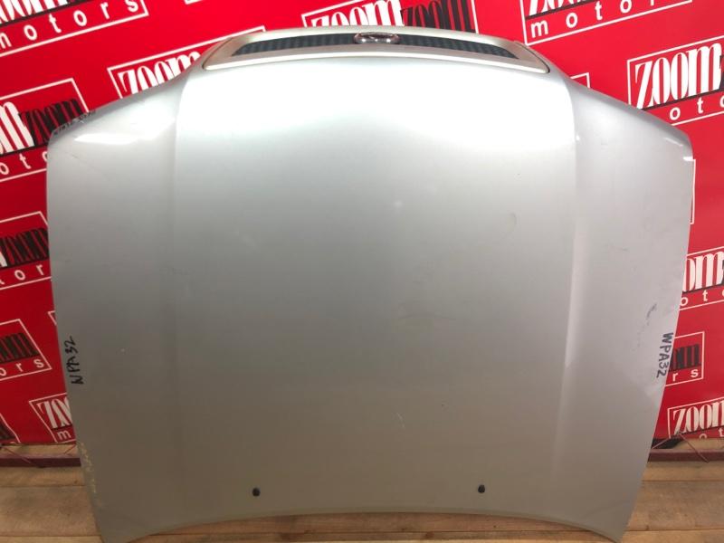 Капот Nissan Cefiro WPA32 VQ25DE 1994 серебро