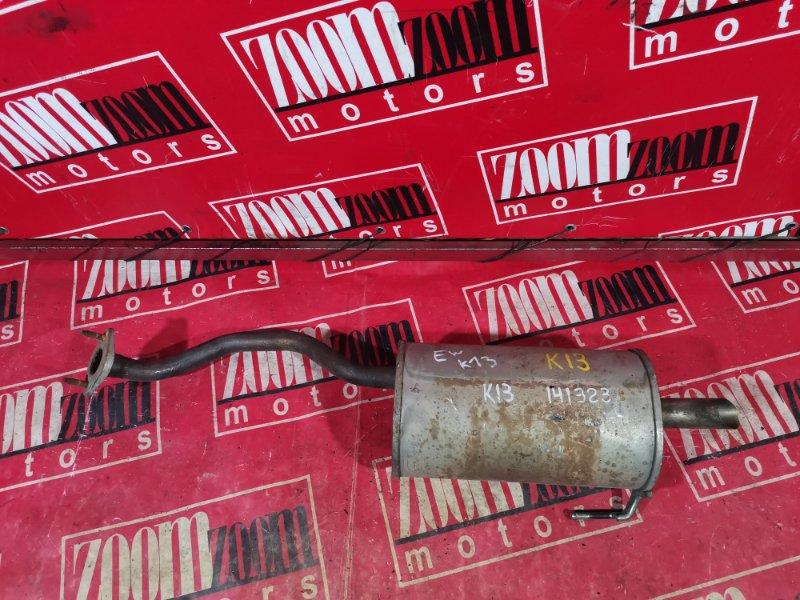 Глушитель Nissan March K13 2010 задний