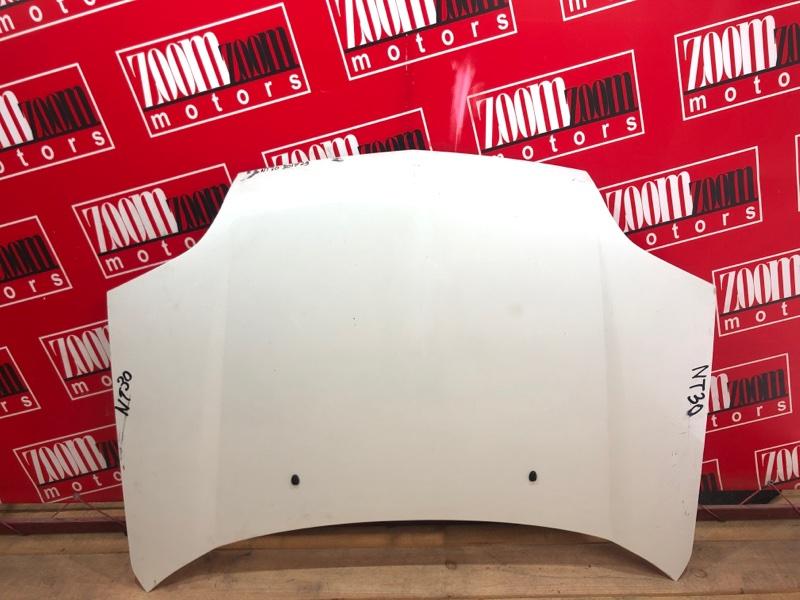 Капот Nissan X-Trail NT30 QR20DE `2000 белый перламутр