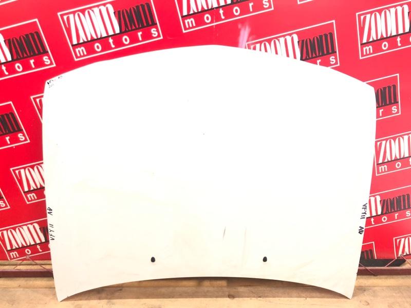 Капот Nissan Ad VFY11 QG15DE 1999 белый