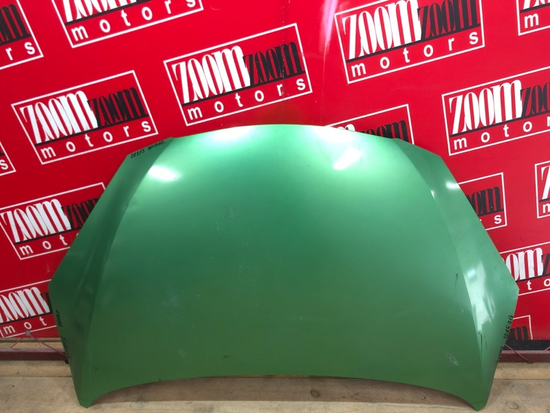 Капот Mazda Demio DE3FS ZJ-VE 2007 зеленый