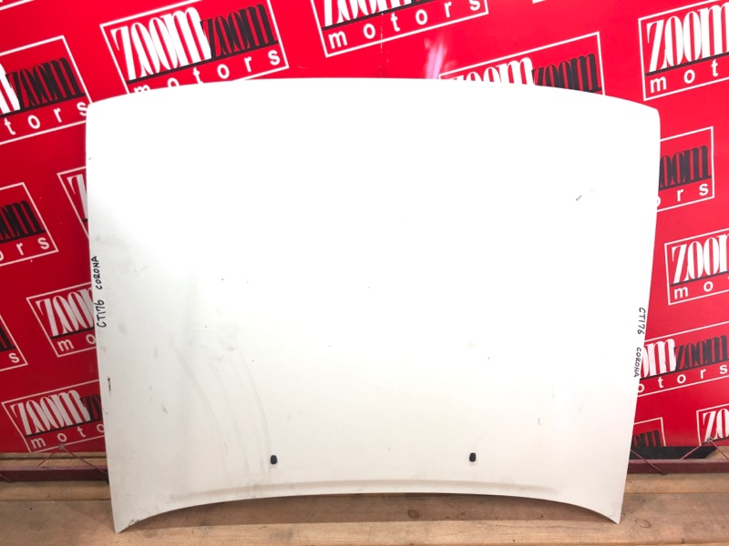 Капот Toyota Corona CT176V 2C 1987 белый