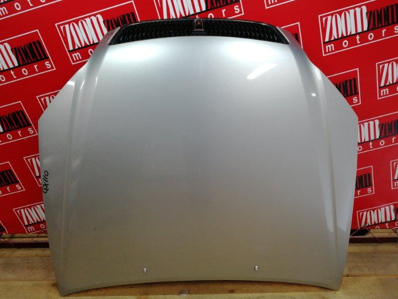 Капот Toyota Mark Ii GX110 1G-FE 2000 серебро