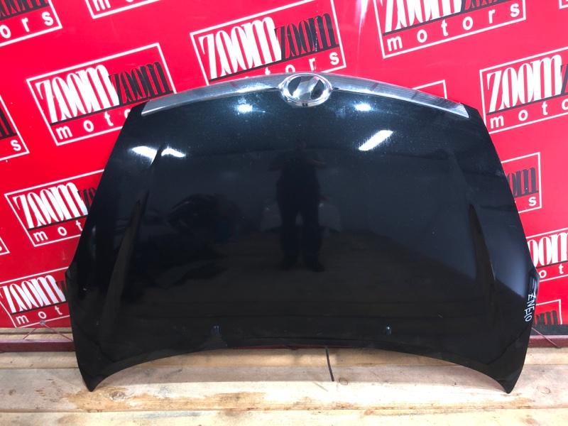 Капот Toyota Wish ZNE10G 1ZZ-FE 2005 черный