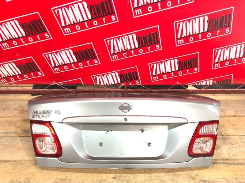 Крышка багажника Nissan Bluebird Sylphy QG10 QG18DE 2000 серый