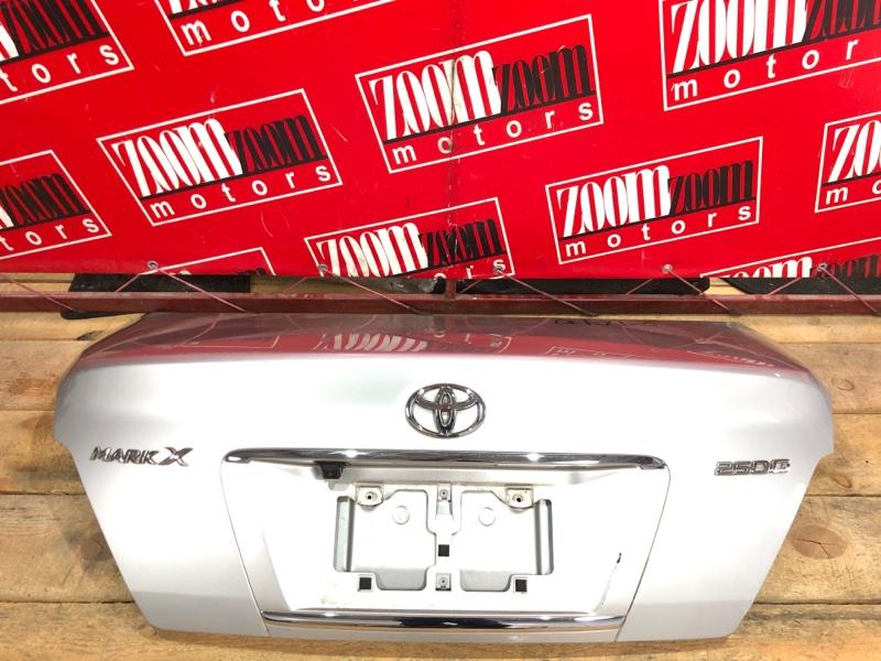 Крышка багажника Toyota Mark X GRX120 4GR-FSE 2004 серебро