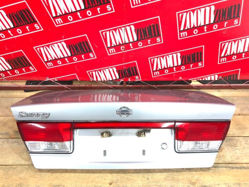 Крышка багажника Nissan Sunny FB15 QG15DE 1998 серебро