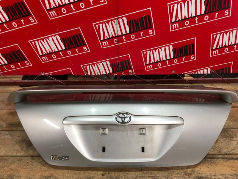 Крышка багажника Toyota Mark Ii GX110 1G-FE 2000 серебро