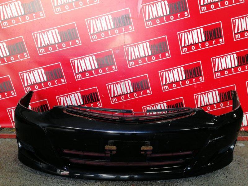 Бампер Toyota Wish ZNE10G 1ZZ-FE 2003 передний черный