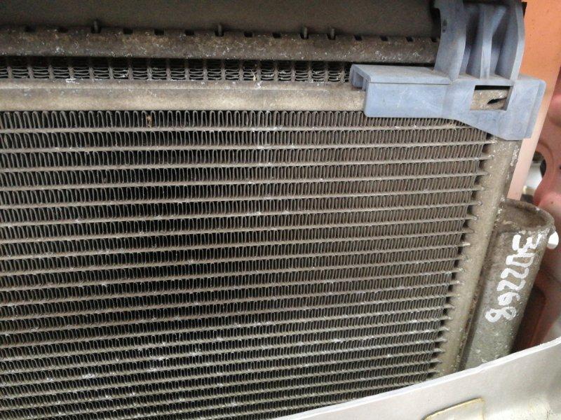 Радиатор кондиционера Toyota Vitz SCP90 2SZ-FE 2007