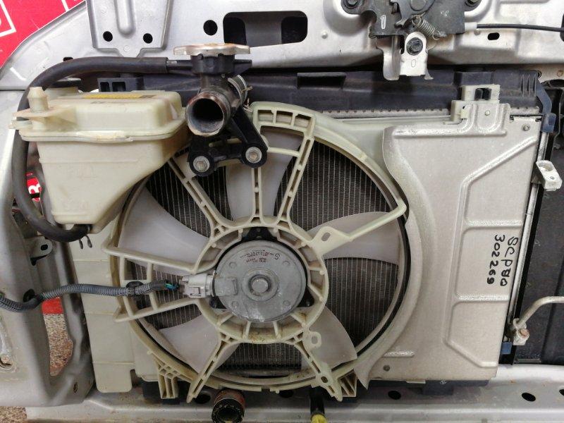 Радиатор двигателя Toyota Vitz SCP90 2SZ-FE 2007