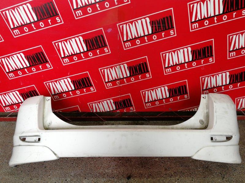 Бампер Mazda Demio DY3W ZJ-VE 2002 задний белый