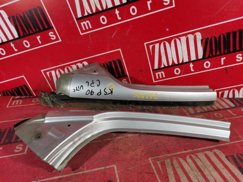 Стойка кузова Toyota Vitz KSP90 1KR-FE 2005 серебро