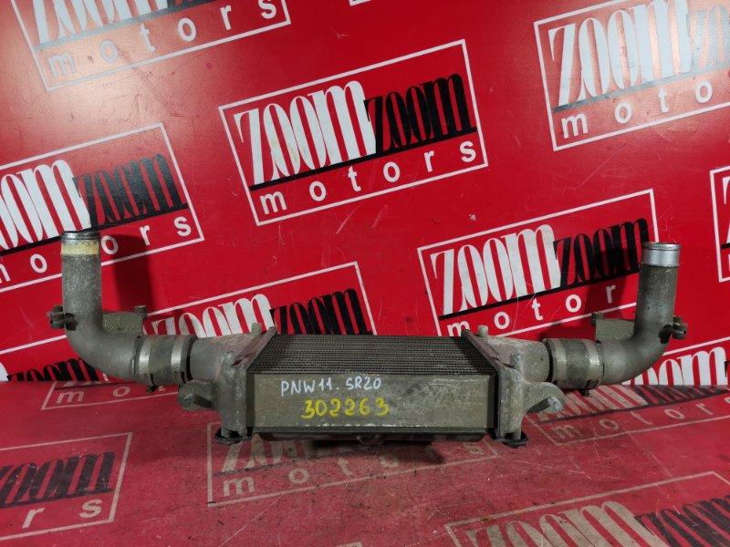 Радиатор интеркулера Nissan Avenir PW11 QG18DE 1999