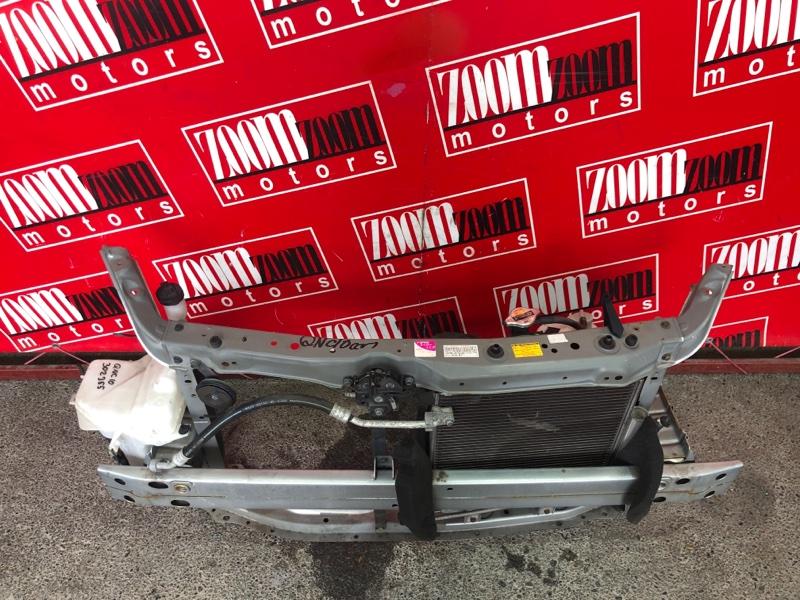 Рамка радиатора Toyota Passo QNC10 K3-VE 2004 серебро
