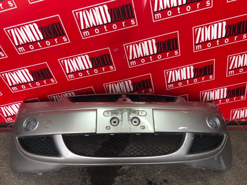 Бампер Mitsubishi Colt Z27A 4G15 2002 передний серый