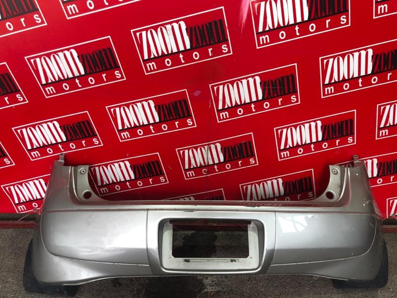 Бампер Mitsubishi Colt Z27A 4G15 2002 задний серый