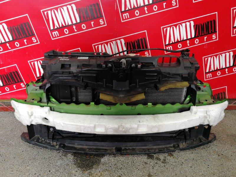 Рамка радиатора Mazda Demio DE3FS ZJ-VE 2007 зеленый