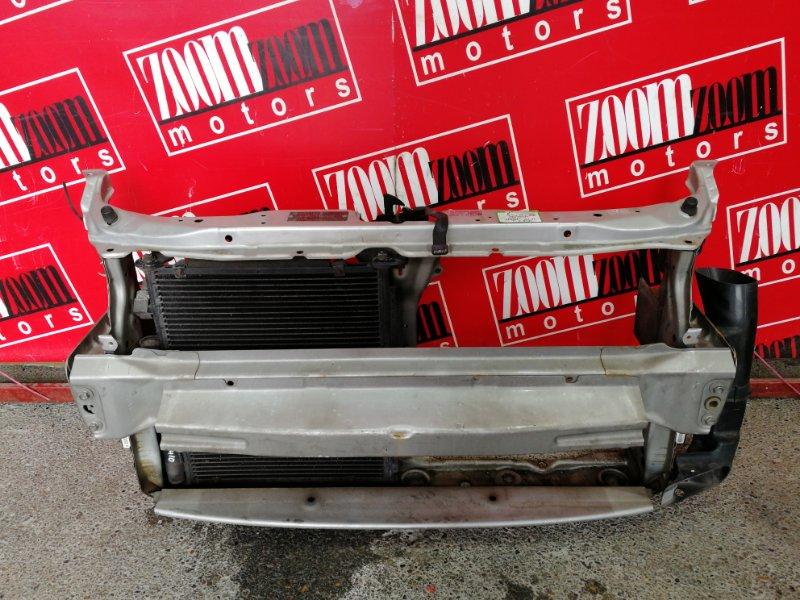 Рамка радиатора Honda Fit GD1 L13A 2001 серебро