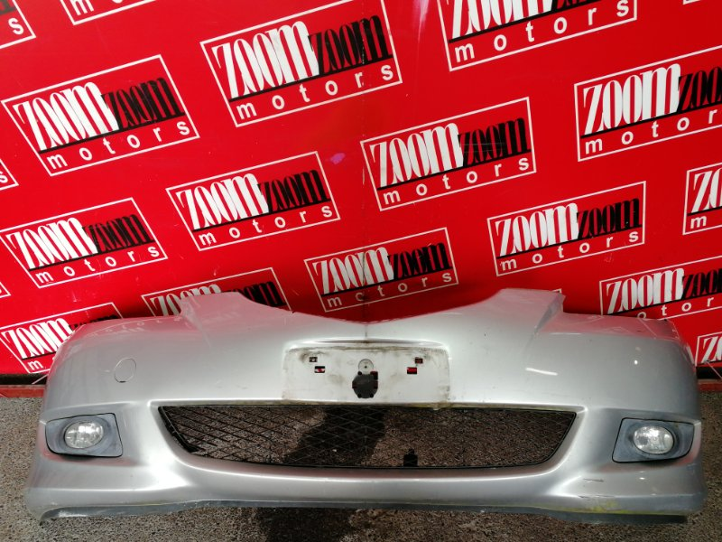 Бампер Mazda Axela BK5P ZY-VE 2003 передний серебро